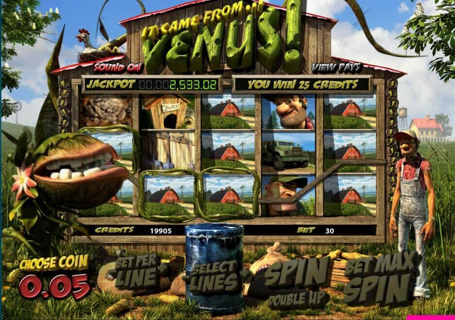 venus slot game